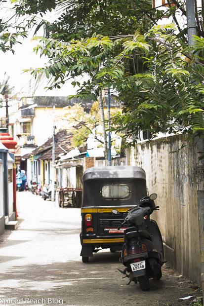 street in Kerala India