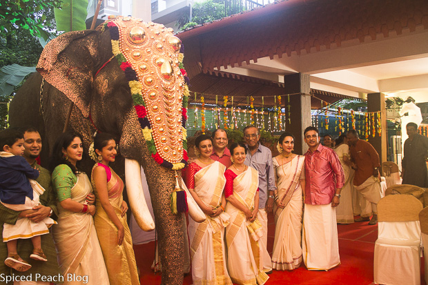 Paul's Family at Sangeeth