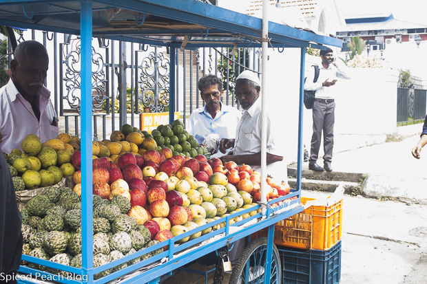 fruit stand in Kochi