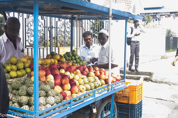 fruit stand in Kochi