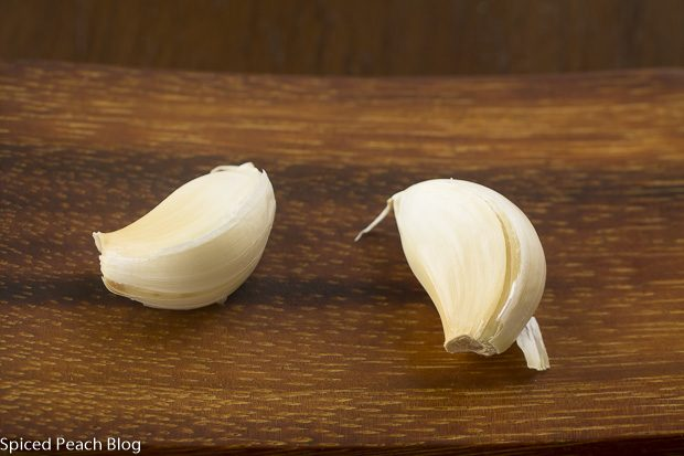 two cloves garlic