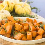 Honey Roasted Sweet Potatoes