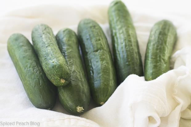 6 Persian Cucumbers