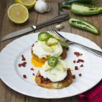 Southwestern Style Eggs Benedict