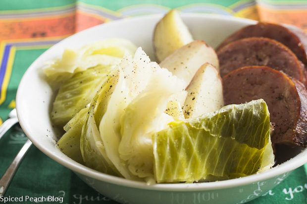 Ham and Cabbage and Potatoes
