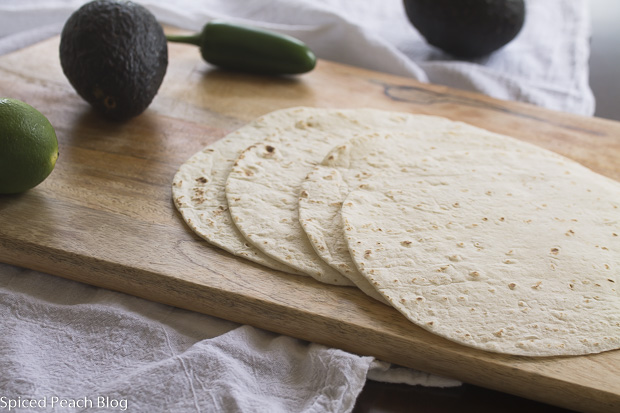 Tortillas for Quuesadillas