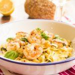 Emily's Limoncello Shrimp and Fettuccine