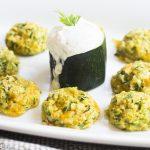 Zucchini Cheese Bites