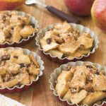 Apple Brown Betty with Raisin Bread