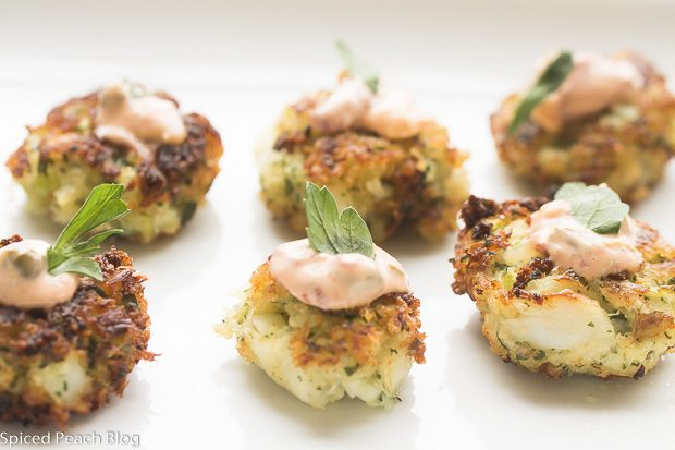 Cocktail Cod Cakes, Remoulade