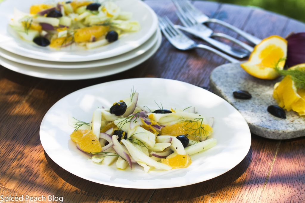 Fennel Orange and Kalamata Olive Salad