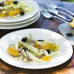 Fennel Orange and Kalamata Olive Salad