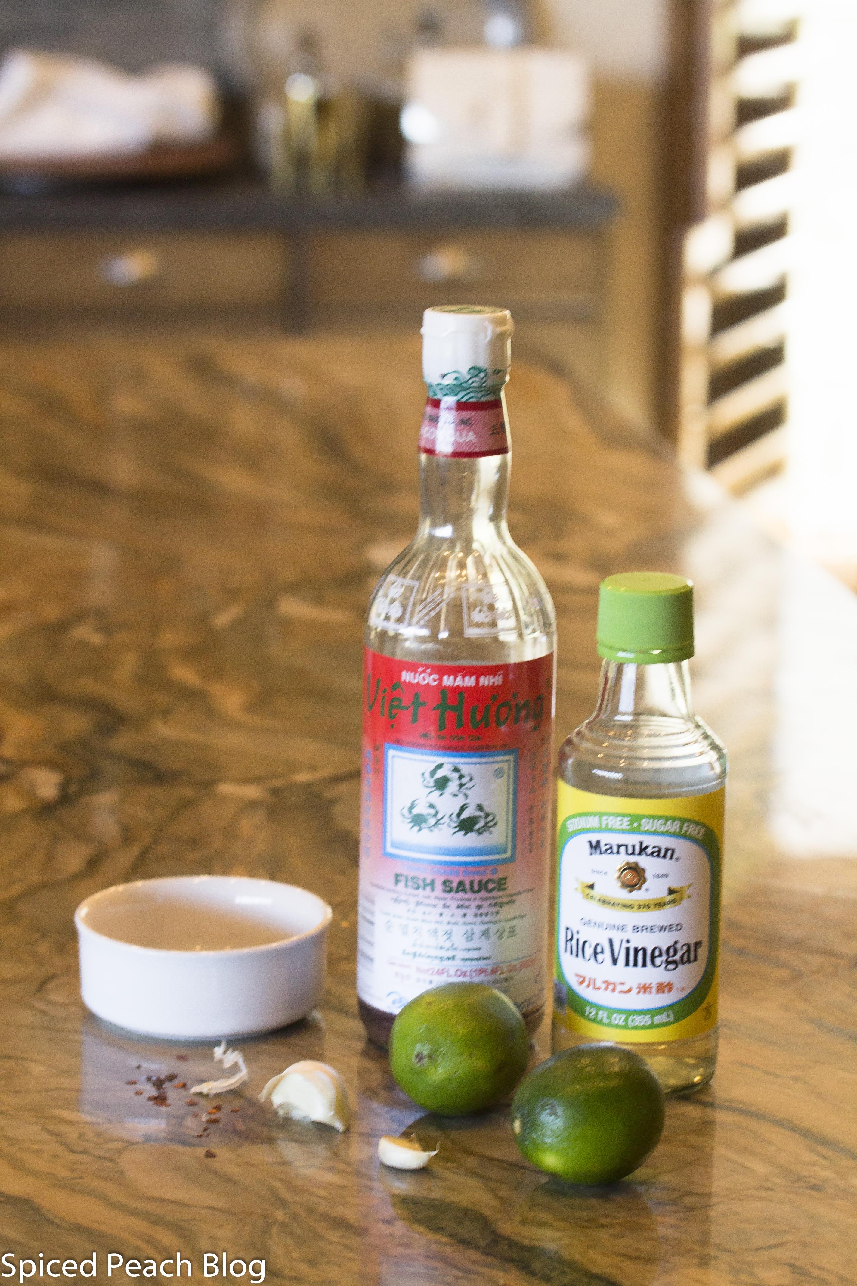 Fish Sauce and Rice Vinegar