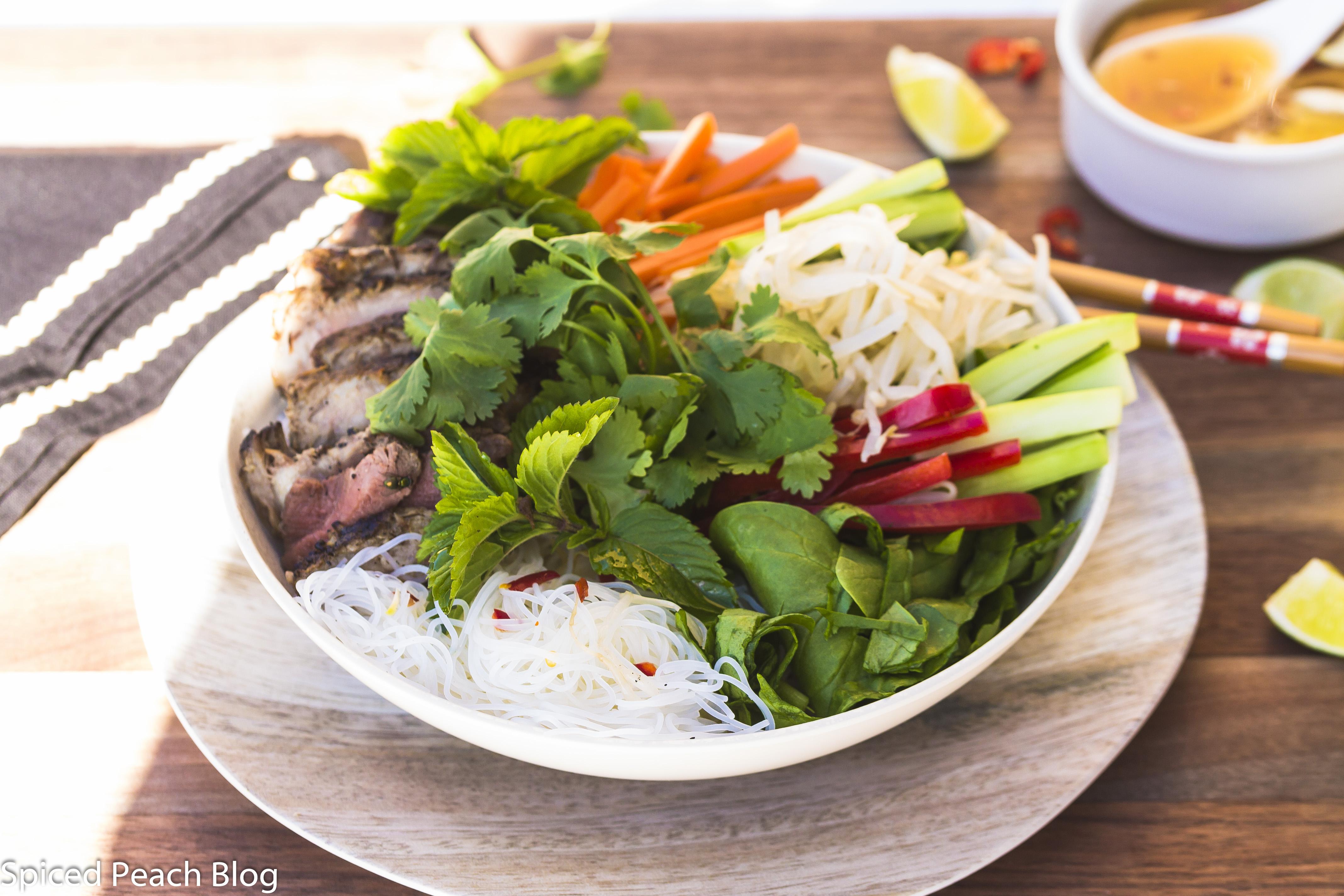 Vietnamese Style Noodle Salad