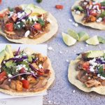 Pork Chipotle Tostadas