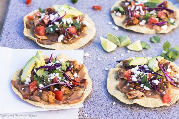 Pork Chipotle Tostados