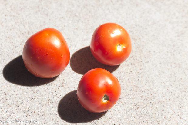 3 vine ripened tomatoes
