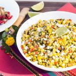 Mexican Style Grilled Corn Salad