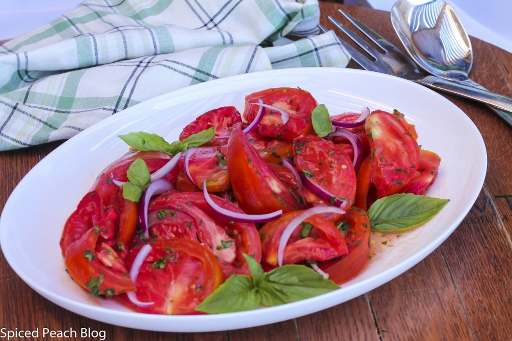 Manhattan Tomato Salad