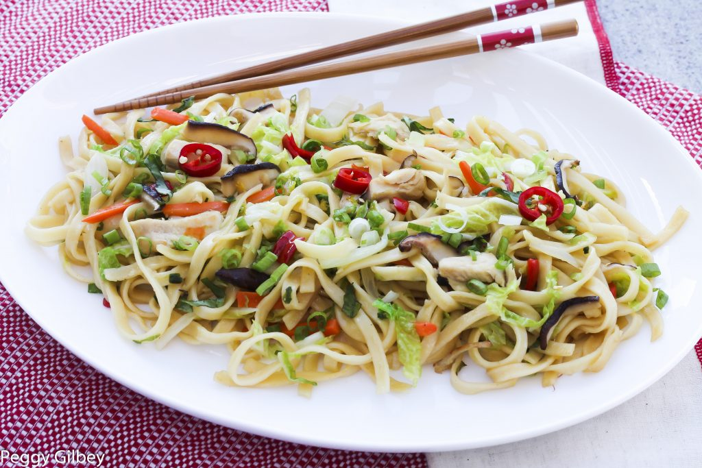 Chicken and Stir Fry Noodles