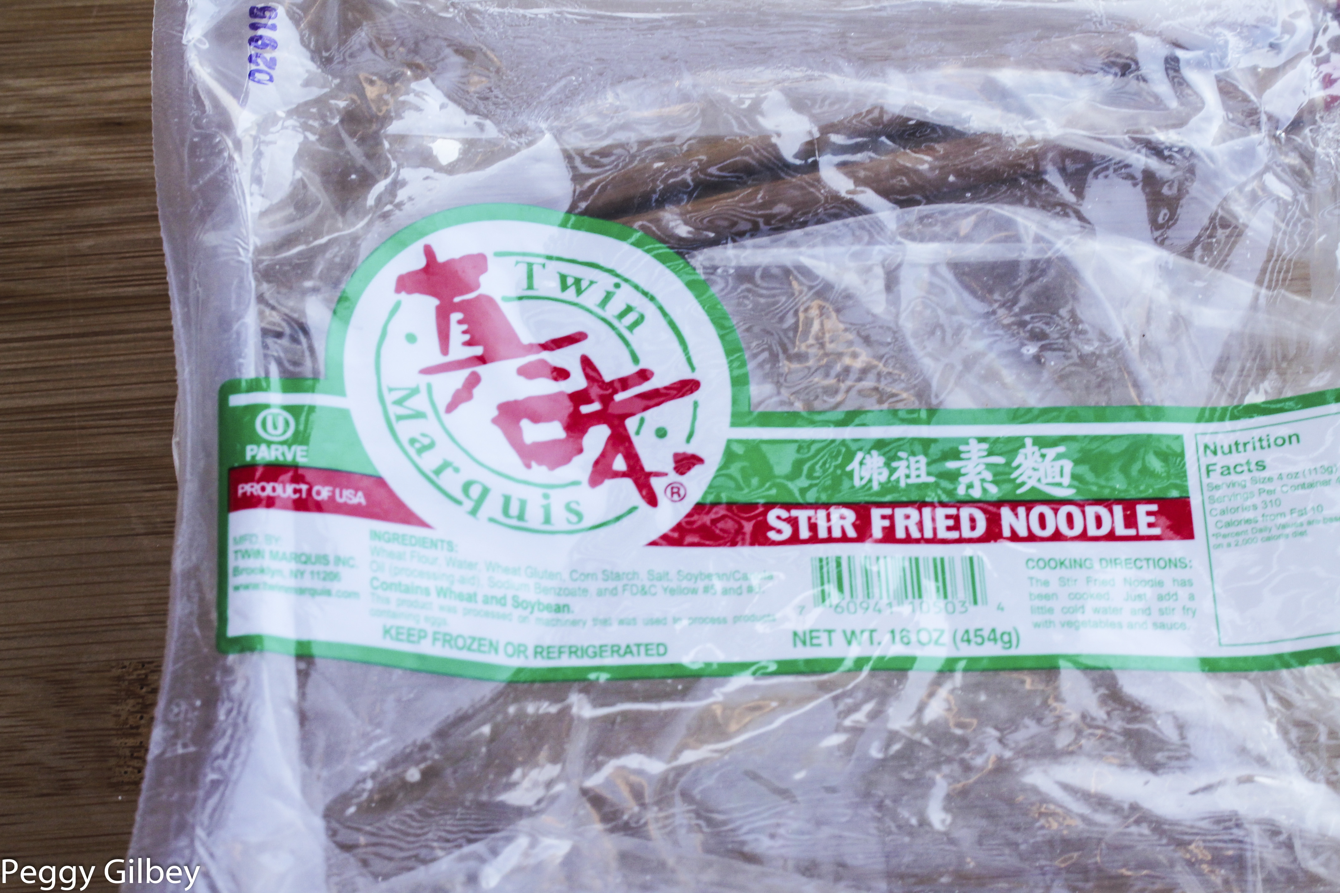 Stir Fry Noodles Package
