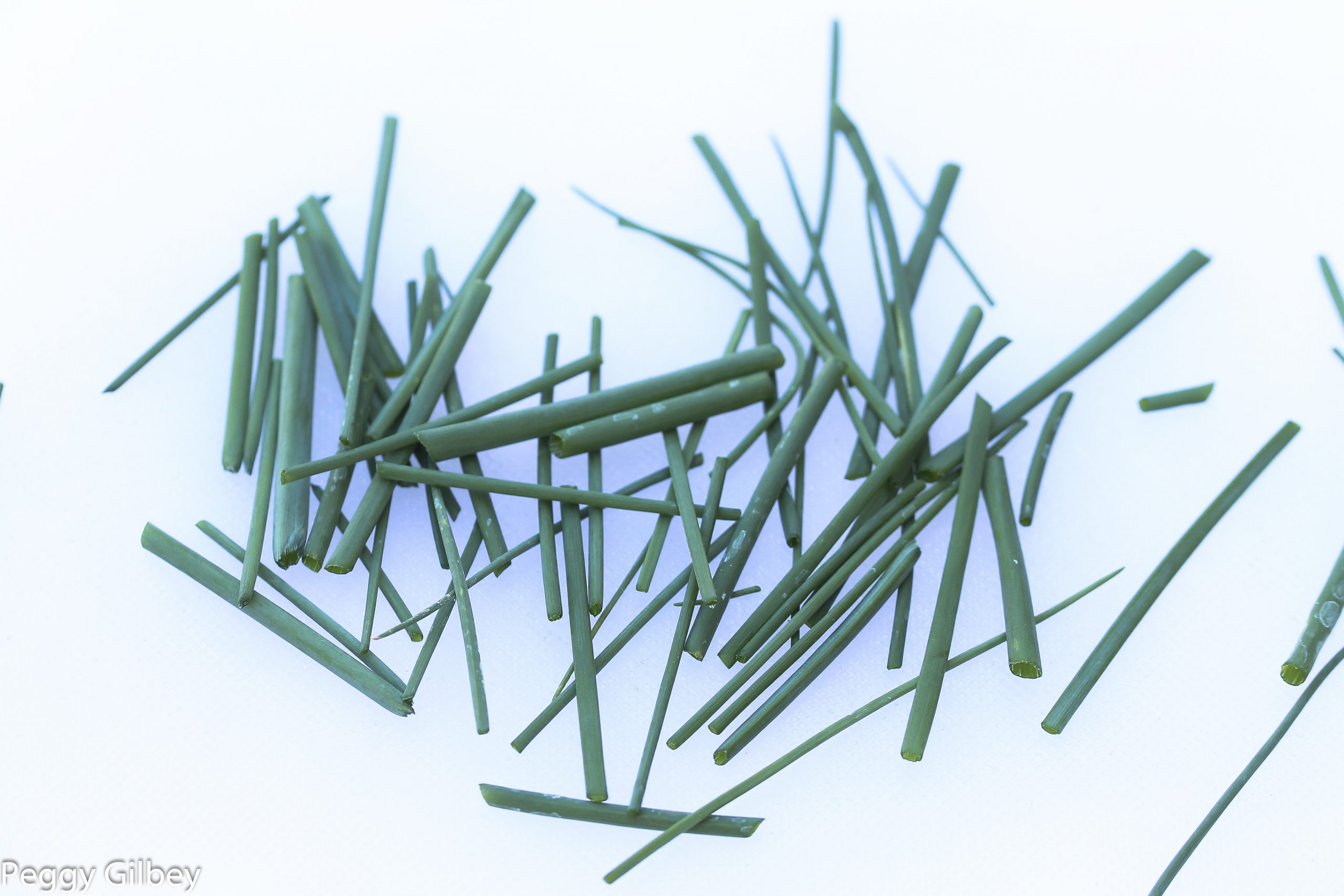 snipped chives