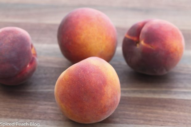 four-fresh- peaches